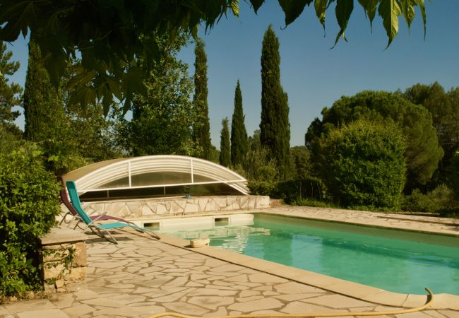 House in Cotignac - Holidays home in Provence : Les Valérianes