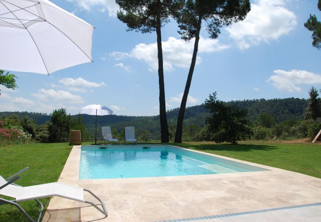 Villa in Sillans-la-Cascade - Seasonal rental in Provence : Villa Pinède