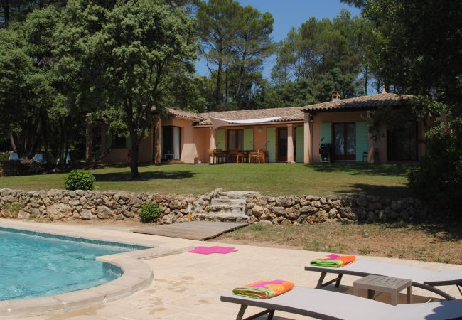 Villa in Cotignac - Holidays home in Cotignac : Villa Stella