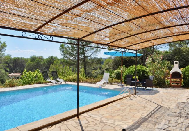 House in Cotignac - Villa Bel Air : Holidays home in Provence :